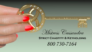 Strict Chastity & Keyholding